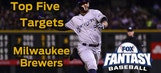 Fantasy Baseball Draft Advice: top five Milwaukee Brewers