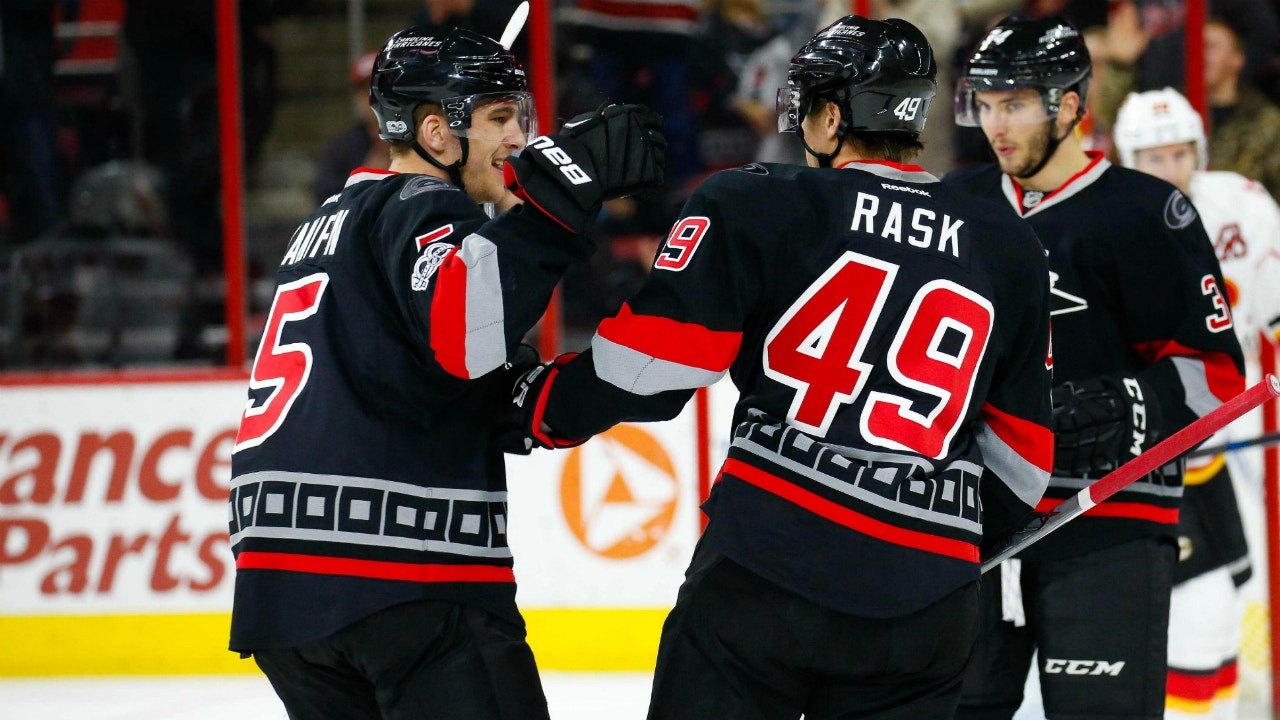 Hurricanes LIVE To Go: Canes fall to Flames on Military Appreciation Night