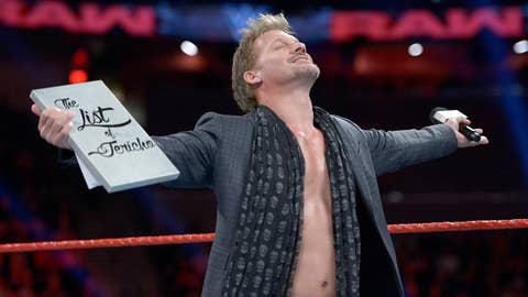 Raw: Chris Jericho vs. The Miz