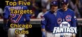 Fantasy Baseball Draft Advice: top five Chicago Cubs
