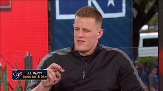J.J. Watt joins Jay and Dan at Super Bowl LI | FOX SPORTS LIVE