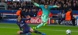 This Neymar dive against PSG in the Champions League was not pretty