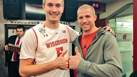 Aaron Moesch, Badgers forward