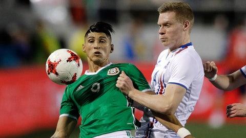 February 8: Mexico 1-0 Iceland