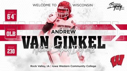 Andrew Van Ginkel, OLB (Iowa Western Community College)