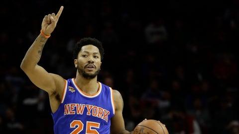 Knicks G Derrick Rose