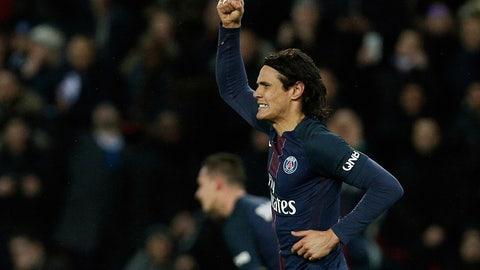 Paris St. Germain — Edinson Cavani's resurgence