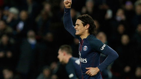 Paris St. Germain — Edinson Cavani's resurgence