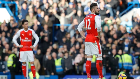 Arsenal's title chances are gone