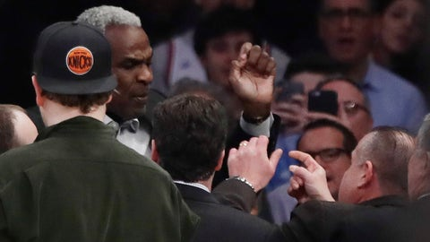 Feb. 8: Charles Oakley is arrested at Madison Square Garden