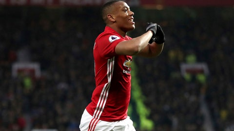 Hello, Anthony Martial