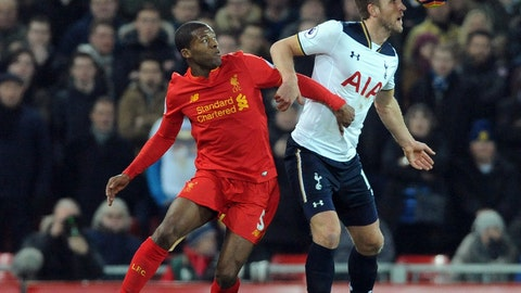 Liverpool took Spurs' stars out of the match