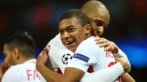 Deal with the threat of Kylian Mbappe