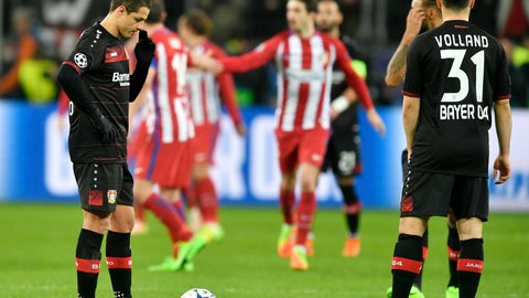 Leverkusen still have a faint semblance of life