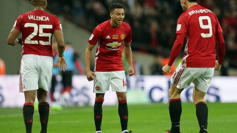 Jesse Lingard, cup final star again