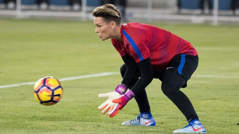 The USWNT goalkeeper battle continues