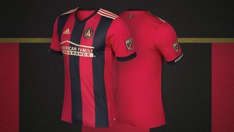Atlanta United primary kit