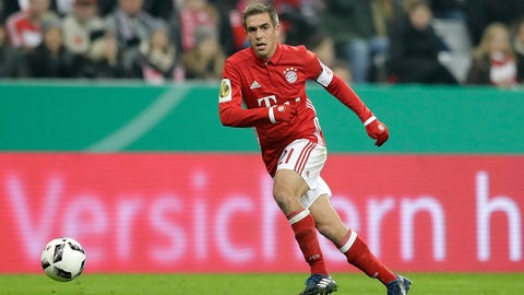Bayern Munich — One more for Lahm