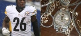 Le'Veon Bell shows off some new bling the day after getting franchise tagged