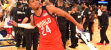 Buddy Hield leads World past US in Rising Stars Challenge