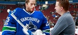 Canucks goalie Jacob Markstrom injured during fan event