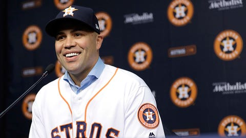 Houston Astros: Carlos Beltran, OF/DH (39)