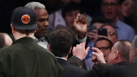 Charles Oakley vs. the Knicks