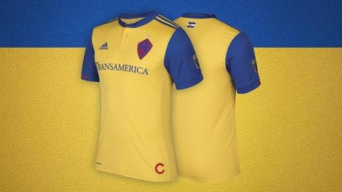 Colorado Rapids secondary kit
