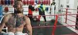 Conor McGregor posts boxing video on Instagram