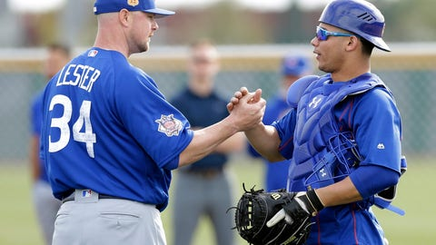 Will Willson Contreras be able to replace David Ross?