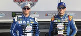 Where all 40 drivers will start the 59th Daytona 500