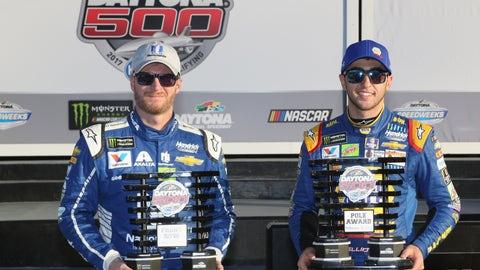 Daytona 500 front row