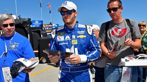 Do you feel a special bond with race fans at Talladega?