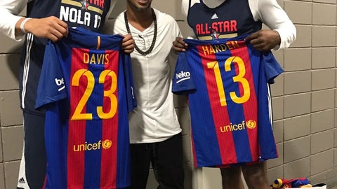 Anthony Davis and James Harden