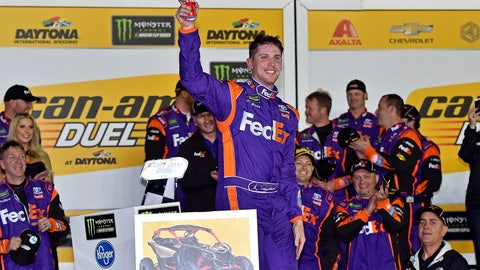 Hamlin in Victory Lane