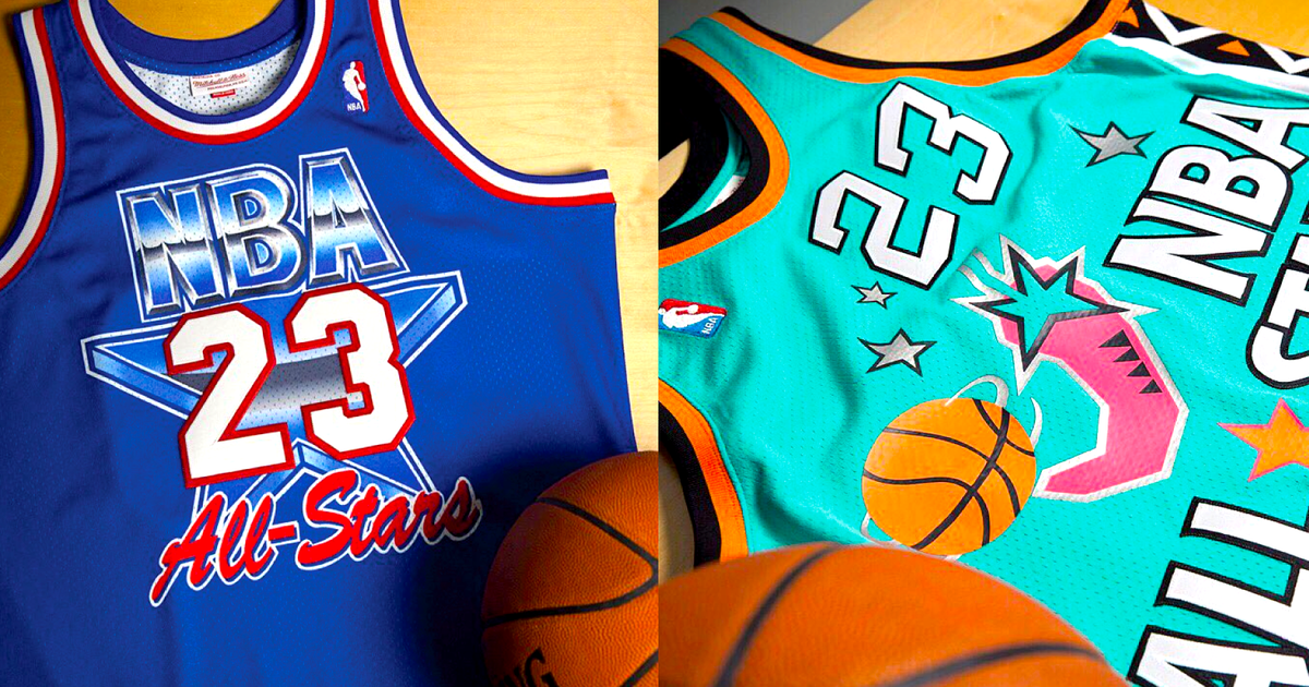 3c2fb4143424 Mitchell   Ness selling vintage Michael Jordan jerseys ahead of 2017 NBA All -Star Game