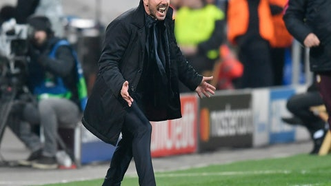 Diego Simeone got his first-half tactics down perfectly
