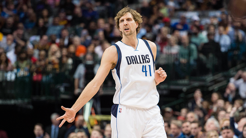 8. Dirk Nowitzki, Dallas Mavericks: $25,000,000