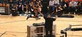 Watch DeAndre Jordan dunk over DJ Khaled (VIDEO)