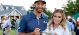 Dustin Johnson and Paulina Gretzky reveal the gender of their baby with exploding ball