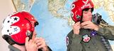 Ryan Blaney, Erik Jones fly with Air Force Thunderbirds around Daytona