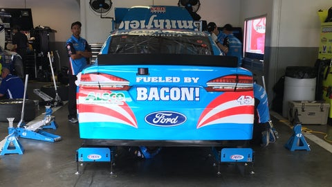 Fueled by bacon!