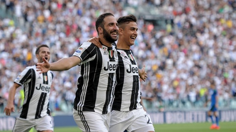 Gonzalo Higuain and Paulo Dybala have to create magic -- and score goals