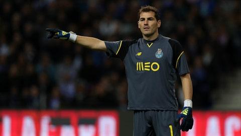 Goalkeeper: Iker Casillas