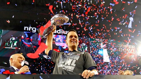 New England Patriots: 15