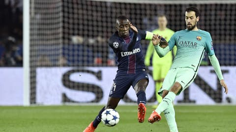 Paris Saint-Germain: Blaise Matuidi