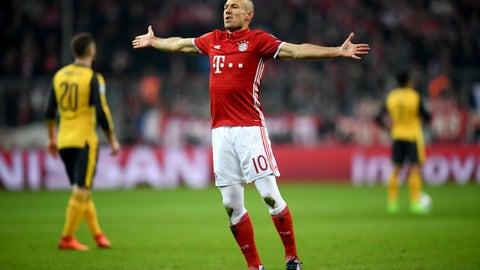 Arjen Robben is still doing Arjen Robben things