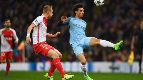 Leroy Sane is a menace