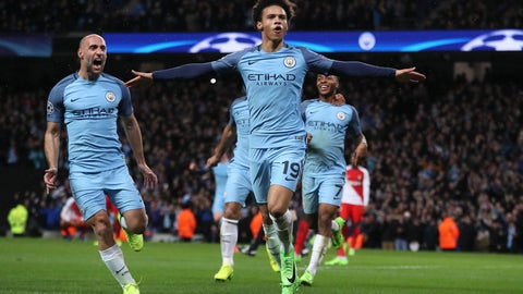 Manchester City: Leroy Sane