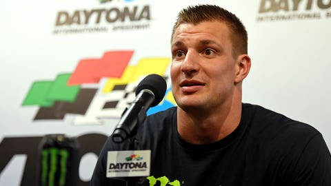 Gronk Goes From Super Bowl To Daytona 500
